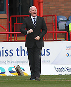 Dundee manager John Brown - Dundee v Heart of Midlothian - Clydesdale Bank Scottish Premier League at Dens Park .. - © David Young - www.davidyoungphoto.co.uk - email: davidyoungphoto@gmail.com
