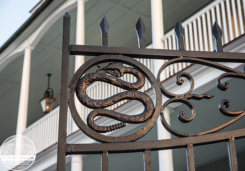 329 East Bay Street Snake Gates