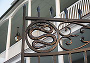 329 East Bay Street Snake Gates
