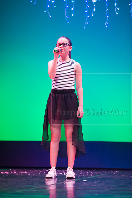 Wellington, NZ. 4.12.2015. Like I'm Gonna Lose You, from the Wellington Dance & Performing Arts Academy end of year stage-show 2015. Big Show, Friday 6.30pm. Photo credit: Stephen A'Court.  COPYRIGHT ©Stephen A'Court