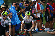 Louis Mentjes (RSA, Dimension Data) during the 73th Edition of the 2018 Tour of Spain, Vuelta Espana 2018, Stage 14 cycling race, Cistierna - Les Praeres Nava 171 km on September 8, 2018 in Spain - Photo Luca Bettini/ BettiniPhoto / ProSportsImages / DPPI