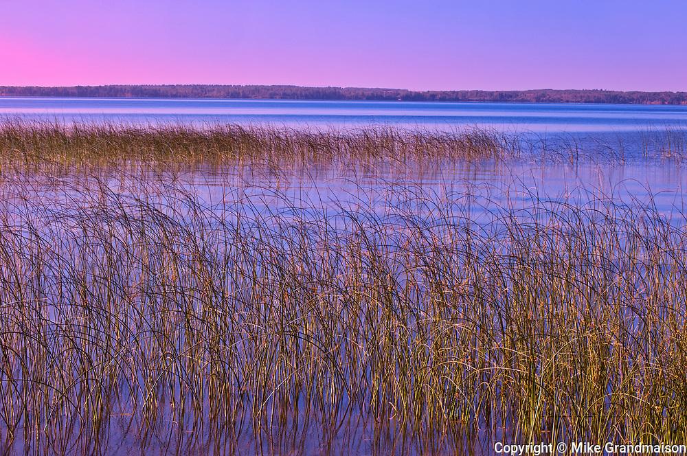 Clear Lake at dawn<br />Riding Mountain National Park<br />Manitoba<br />Canada
