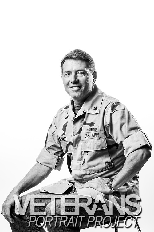 Robert L. Sawyer<br /> Navy<br /> O-5<br /> Surface Warfare Officer<br /> 07/08/80-06/01/12<br /> OIF<br /> <br /> (Photo by Stacy L. Pearsall)