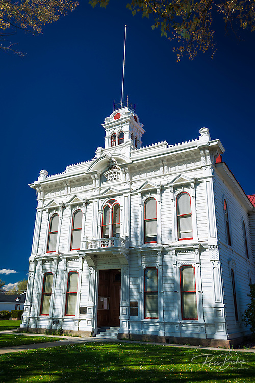 The Mono County Courthouse, Bridgeport, California USA