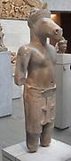 Hayagriva a Hindu divinity shown as a male horse head (Vajimukha). 3rd quarter of the 10th century. Northern group of Sambor Prei Kuk, style of Pre Rup (950-975) . Cambodia, Sambor Prei Kuk (site).
