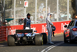 March 23, 2018 - Melbourne, Victoria, Australia - STROLL Lance (can), Williams F1 Mercedes FW41, mechanical problem during 2018 Formula 1 championship at Melbourne, Australian Grand Prix, from March 22 To 25 - Photo  Motorsports: FIA Formula One World Championship 2018, Melbourne, Victoria : Motorsports: Formula 1 2018 Rolex  Australian Grand Prix, (Credit Image: © Hoch Zwei via ZUMA Wire)
