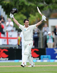 Dunedin-Cricket, New Zealand v England, 1st test, day 3, March 08