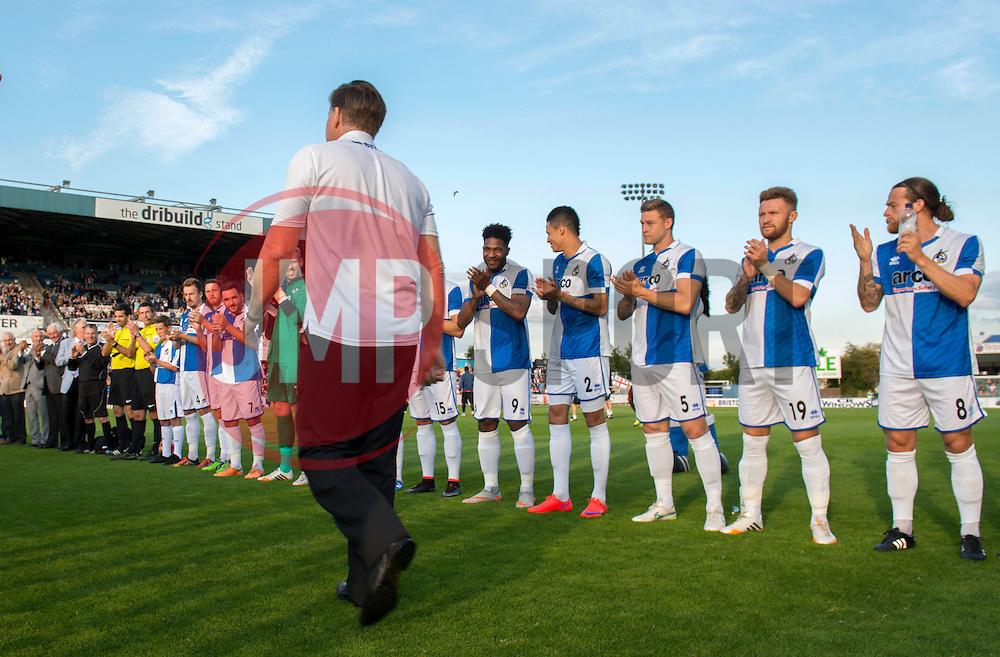 Phil Kite Testimonial - Mandatory byline: Dougie Allward/JMP - 07966386802 - 31/07/2015 - FOOTBALL - Memorial Stadium -Bristol,England - Bristol Rovers v West Brom - Phil Kite Testimonial Match