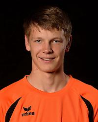 06-06-2013 VOLLEYBAL: NEDERLANDS JONG MANNEN VOLLEYBALTEAM: ROTTERDAM <br /> Selectie Oranje jong mannen seizoen 2013-2014 / Stijn van Schie<br /> &copy;2013-FotoHoogendoorn.nl