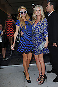 Sept. 7, 2014 - New York, NY, USA - September 7, <br /> <br /> Paris Hilton and Nicky Hilton attending Diane Von Furstenberg fashion show during Mercedes-Benz Fashion Week Spring 2015 at Spring Studios on September 7, 2014 in New York City   <br /> ©Exclusivepix