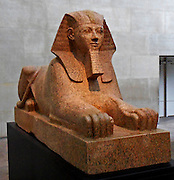 Sphinx of Hatshepsut. New Kingdom 18th Dynasty, Joint reign of Hatshepsut and Thutmose III. ca. 1473–1458 B.C. Egypt, Upper Egypt; Thebes, Deir el-Bahri, Senenmut Quarry