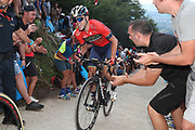 Ion Izagirre (ESP, Bahrain Merida) during the 73th Edition of the 2018 Tour of Spain, Vuelta Espana 2018, Stage 14 cycling race, Cistierna - Les Praeres Nava 171 km on September 8, 2018 in Spain - Photo Angel Gomez/ BettiniPhoto / ProSportsImages / DPPI