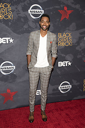 August 6, 2017 - New Jersey, U.S - JAY ELLIS, at the Black Girls Rock 2017 red carpet. Black Girls Rock 2017 was held at the New Jersey Performing Arts Center in Newark New Jersey. (Credit Image: © Ricky Fitchett via ZUMA Wire)