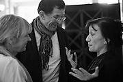 VICKEN GORMLEY; Antony Gormley, Whitechapel Gallery Art Icon 2015 Gala dinner supported by the Swarovski Foundation. The Banking Hall, Cornhill, London. 19 March 2015