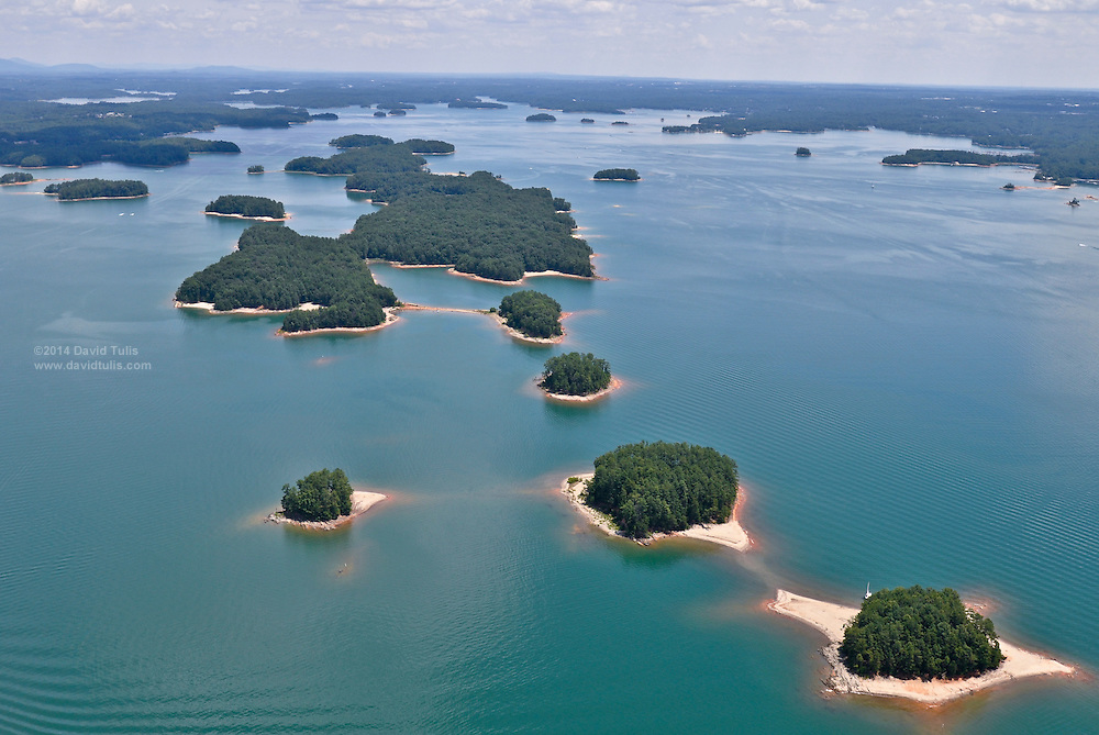 Lake Lanier aerial photos, part of the Chattahoochee River basin, and recovering from an extensive drought. Georgia, Alabama and Florida are in a water war over rights to the water flowing into and out of the Lake Lanier and Chattahoochee River watershed and basin. The governors of three states continue to argue over who has rights to the valuable resource.   David Tulis   dtulis@gmail.com