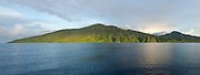 Sunset on St. Vincent. Landscape Panorama image taken with a Canon 5d Mark II.