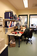 The Hague. Hospital. MCH. Medisch Centrum Haaglanden. Paperwork..Photo: Gerrit de Heus