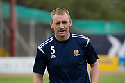 14th September 2019; Dens Park, Dundee, Scotland; Scottish Championship, Dundee Football Club versus Alloa Athletic; Andy Graham of Alloa Athletic during the warm up before the match