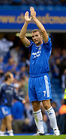 Photo: Daniel Hambury.<br />Chelsea v Manchester City. The Barclays Premiership. 20/08/2006.<br />Chelsea's Andriy Shevchenko applauds the fans at the end of the match.
