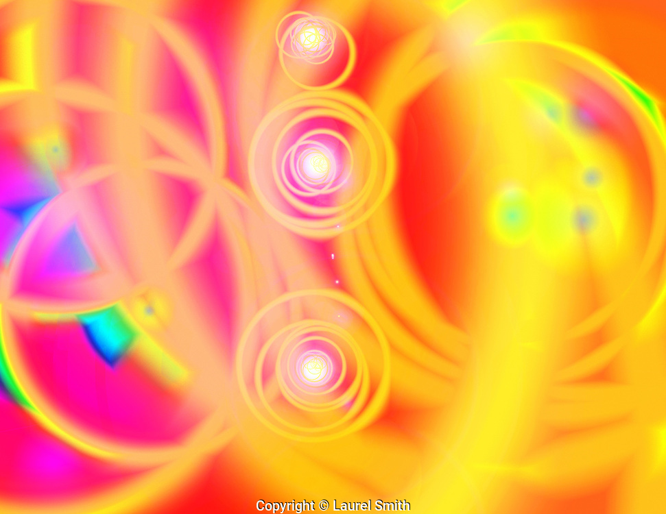 Higgs Boson And The Quantum Field ~ Light Portrait for a client.  Vibrant and dynamic quantum energy, enlivening creation from the Source.  © Laurel Smith