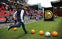 Dunder Challenge -Mandatory by-line: Nizaam Jones/JMP- 12/01/2019 - FOOTBALL -Ashton Gate Stadium- Bristol,England- Bristol City v Bolton Wanderers - Sky Bet Championship