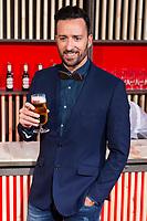 Actor Pablo Puyol during the presentation of the new spot of  Mahou 5 Estrellas at Capitol Cinemas in Madrid. March 29, 2016. (ALTERPHOTOS/Borja B.Hojas)