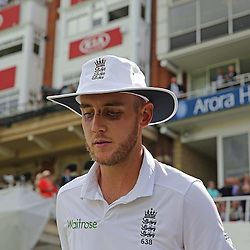England's Stuart Broad during the first day of the Investec 5th Test match between England and India at the Kia Oval, London, 15th August 2014 © Phil Duncan | SportPix.org.uk