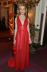 NATALIA VODIANOVA at The Backstage Gala hosted by Diana Vishneva , Principal Dancer of the Mariinsky and American Ballet Theatre, and Natalia Vodianova in aid of The Naked Heart Foundation held at The London Coliseum, St.Martin's Lane, London on 17th April 2015.