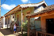 House in San Felipe, Mayabeque, Cuba.