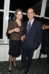 WILLIAM & SARAH WHITBREAD at a dinner in aid of the charity Save The Rhino held at ZSL London Zoo, Regents Park, London NW1 on 16th November 2011.