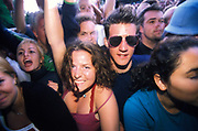 A close up of a crowd, Quart festival, Kristiansands Norway 2000