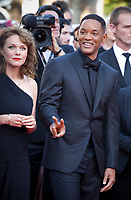 Actor Will Smith arriving to the Closing Ceremony and awards at the 70th Cannes Film Festival Sunday 28th May 2017, Cannes, France. Photo credit: Doreen Kennedy