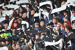 Derby County Fans Scarves,  Derby County v Wolves, Ipro Stadium, Sky Bet Championship, Sunday 18th October 2015 (Score Derby 4, Wolves, 1)Derby County v Wolves, Ipro Stadium, Sky Bet Championship, Sunday 18th October 2015 (Score Derby 4, Wolves, 1)