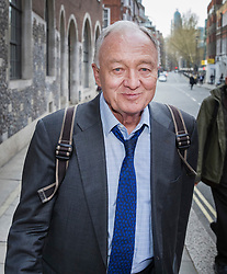 © Licensed to London News Pictures. 30/03/2017. London, UK. Former Mayor of London Ken Livingstone waves arrives at Church House for a Labour Party disciplinary hearing. Mr Livingstone has been accused of anti-Semitism after comments he made in April 2016 claiming that Hitler supported Zionism in the 1930's. Photo credit: Peter Macdiarmid/LNP