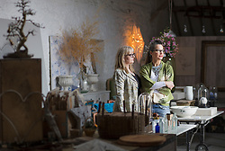 Female Business Partners in their Furnishing Shop