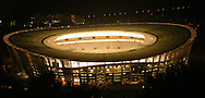 Cape Town, South Africa, 22 October 2009, Green Point Stadium turns on it's central lights affectionately known as The