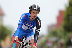 26.06.2015, Einhausen, GER, Deutsche Strassen Meisterschaften, im Bild Lisa Kuellmer (RSC Cottbus) // during the German Road Championships at Einhausen, Germany on 2015/06/26. EXPA Pictures © 2015, PhotoCredit: EXPA/ Eibner-Pressefoto/ Bermel<br /> <br /> *****ATTENTION - OUT of GER*****