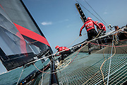 Venice America's Cup World Series.One day with Artemis Racing