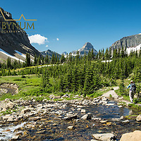 backpacking preston park glacier national park