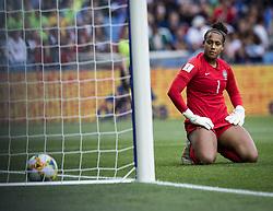 6?13?????????????Goalkeeper Barbara () of Brazil?????????..???????????????2019?6?14?.?????????——C????????????.?????????????2019??????????C??????????2?3???????? .?????????..(SP)FRANCE-MONTPELLIER-2019 FIFA WOMEN'S WORLD CUP-GROUP C-BRAZIL VS AUSTRALIA..(190614) -- MONTPELLIER, June 14, 2019  the group C match between Brazil and Australia at the 2019 FIFA Women's World Cup in Montpellier, France on June 13, 2019. Australia won 3-2. (Credit Image: © Xinhua via ZUMA Wire)