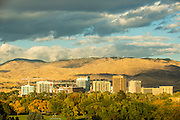 Boise skyine in the fall of 2014.