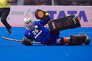 18 BEL vs NED : Pirmin Blaak stops a goal