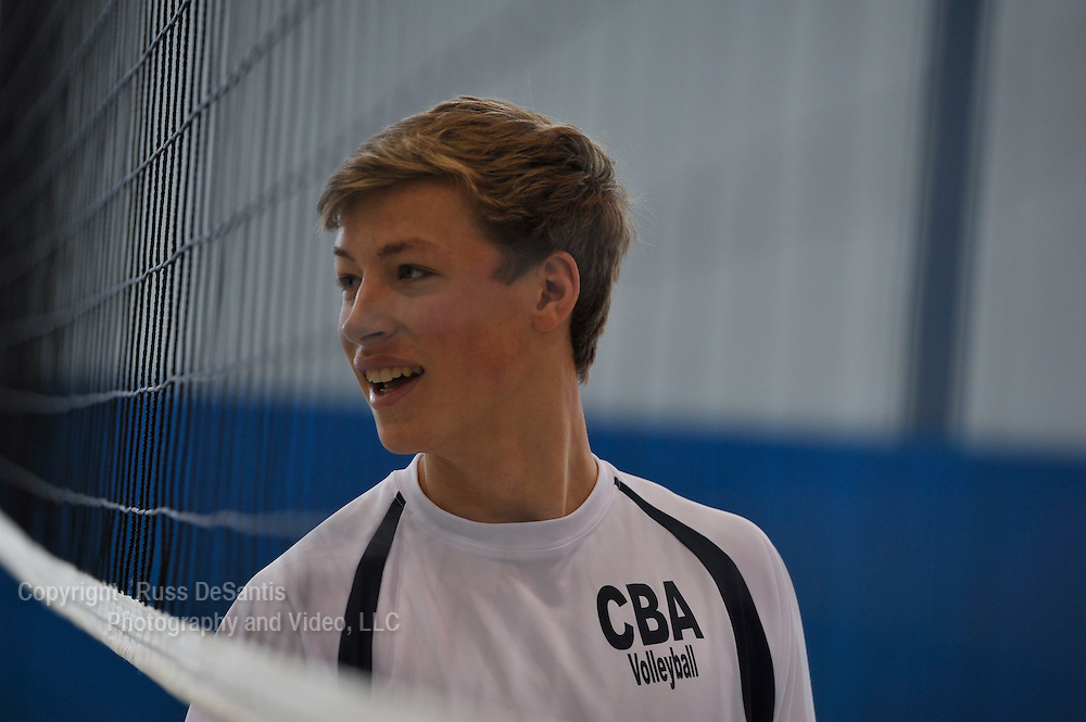 Doug Dzema, CBA volleyball. / Photo by Russ DeSantis Photography and Video, LLC