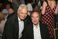 Brian Berg and Ray Davies. The Silver Clef Lunch 2013 in aid of  Nordoff Robbins held at the London Hilton, Park Lane, London.<br /> Friday, June 28, 2013 (Photo/John Marshall JME)