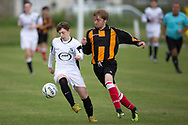 - Grove (white) v Craigie (gold and black stripes) Dundee United Cup sponsored by Arab Trust at Whitton Park, Dundee, Photo: David Young<br /> <br />  - &copy; David Young - www.davidyoungphoto.co.uk - email: davidyoungphoto@gmail.com