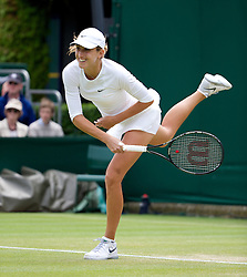 LONDON, ENGLAND - Thursday, June 27, 2013: Petra Martic (CRO) during the Ladies' Singles 2nd Round match on day four of the Wimbledon Lawn Tennis Championships at the All England Lawn Tennis and Croquet Club. (Pic by David Rawcliffe/Propaganda)