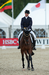 Kevin McNab (AUS) - Clifton Pinot <br /> Dressage - CCI4* Luhmühlen 2012<br /> © Hippo Foto - Jon Stroud