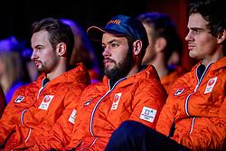 02-01-2018 NED: PloegpresentatieTeamNL, Arnhem<br /> Het Olympisch Team tijdens de teamoverdracht van Olympic en Paralympic TeamNL voor de Olympische Spelen van Pyeongchang / Sjinkie Knegt