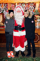 © Licensed to London News Pictures. 21/11/2013, UK.  Nicole Appleton; Natalie Appleton. Hyde Park Winter Wonderland VIP Opening, Hyde Park, London UK, 21 November 2013. Photo credit : Richard Goldschmidt/Piqtured/LNP