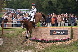 William Fox Pitt, (GBR), Chilli Morning - Eventing Cross - Alltech FEI World Equestrian Games™ 2014 - Normandy, France.<br /> © Hippo Foto Team - Leanjo de Koster
